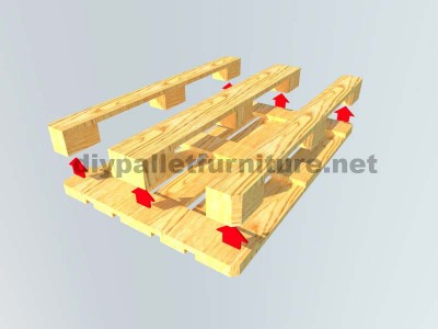 How to easily make a table with a Europallet 6
