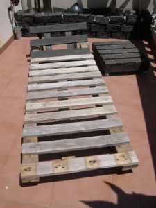 How to make a deck chair with pallets, drawings and instructions 6