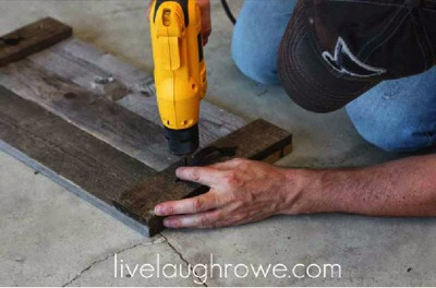How to make a nice pallet tray 5