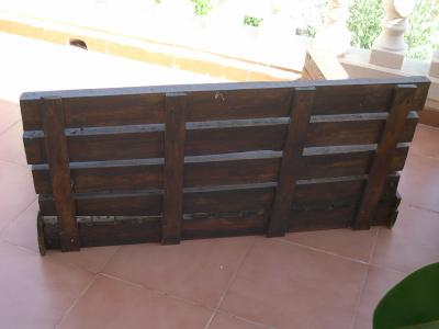 How to make a sofa-chaiselong with pallets, explanation and plans 4