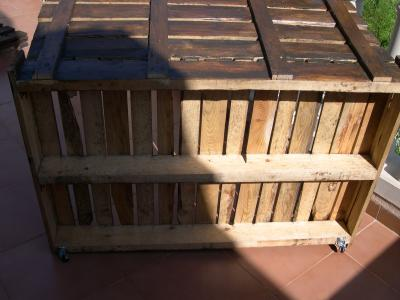 How to make a sofa-chaiselong with pallets, explanation and plans 5