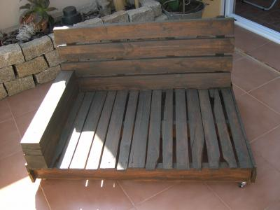 How to make a sofa-chaiselong with pallets, explanation and plans 6