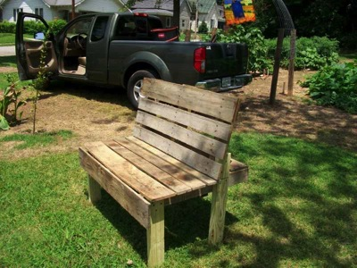 How to make a summer bench for the garden  How to make a summer bench for the garden