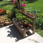 How to make a summer bench for the garden