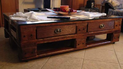 How to make a vintage coffee table 12