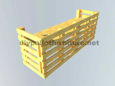 Instructions of how to make an office desk with pallets 10