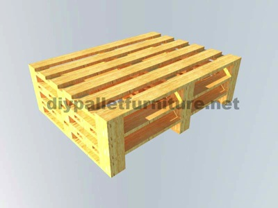 Instructions of how to make an office desk with pallets 3