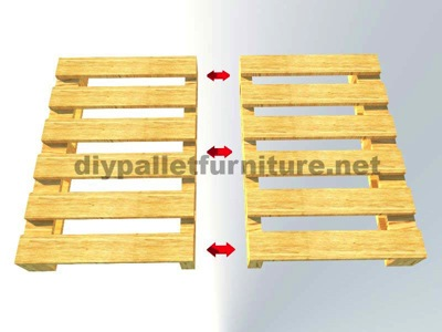 Instructions of how to make an office desk with pallets 4