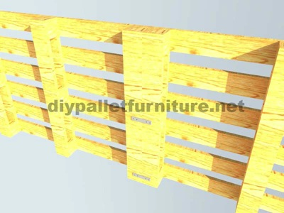 Instructions of how to make an office desk with pallets 6