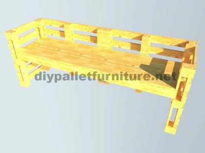 Instructions of how to make an office desk with pallets 9