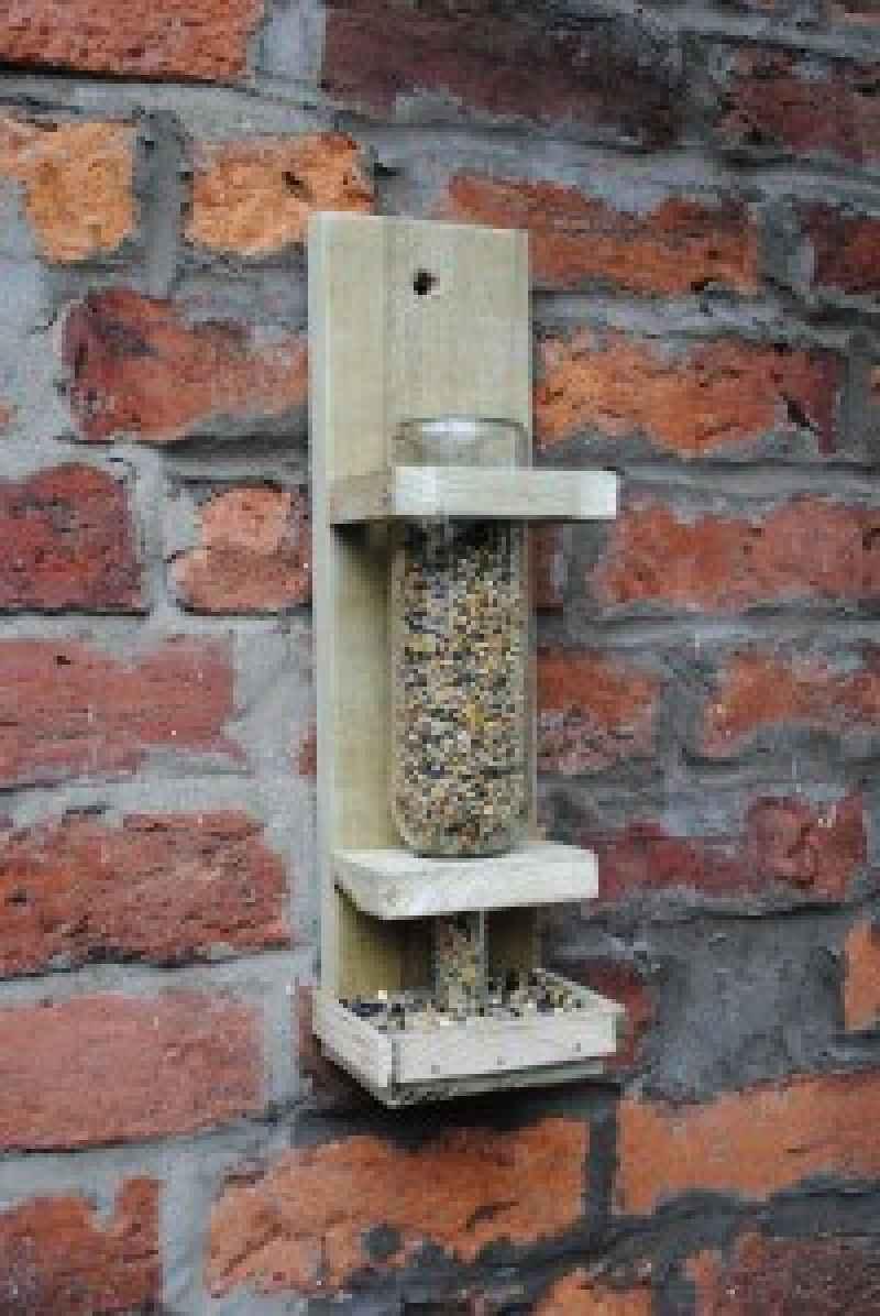 Instructions to build a bird feederDIY Pallet Furniture  DIY Pallet
