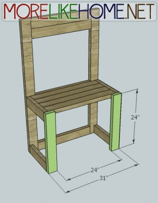 Instructions to make a lemonade stand with pallets 2
