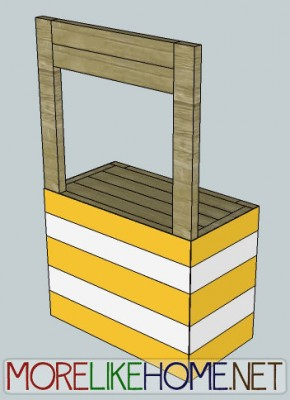 Instructions to make a lemonade stand with pallets 3
