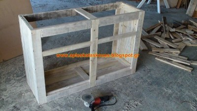 S​step by step guide to build a chest of drawers with wooden pallets 2