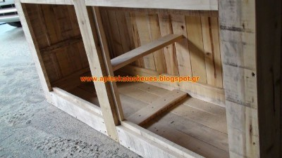 S​step by step guide to build a chest of drawers with wooden pallets 3