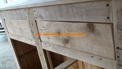 S​step by step guide to build a chest of drawers with wooden pallets 4