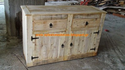 S​step by step guide to build a chest of drawers with wooden pallets