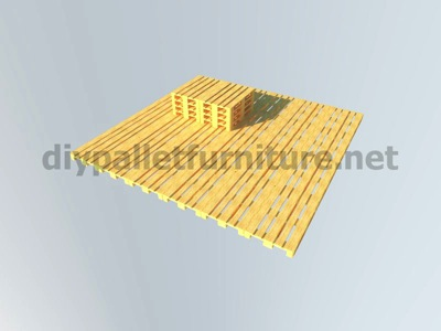 Step by step instructions of how to make a chillout lounge with pallets 6