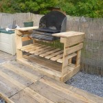 A barbecue with pallets?