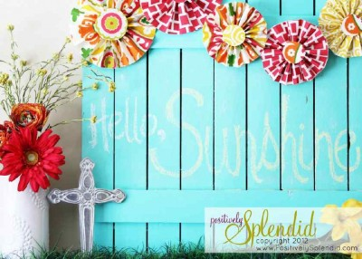 Build your own pallet fence with spring patterns 3
