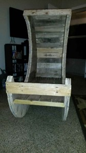 How to make a crib with pallets step by step 11