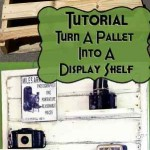 How to make a vintage and custom display shelf to decorate our home