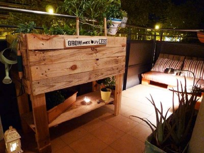 How to make an urban garden, ecologic and economic