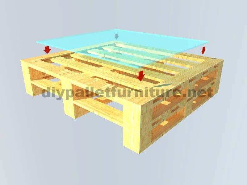 Instructions of how to make an elegant table with pallets for Instructions on how to build a table