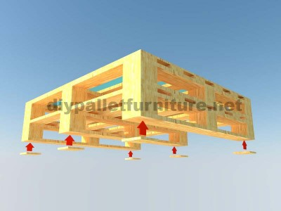 Instructions of how to make an elegant table with pallets 5