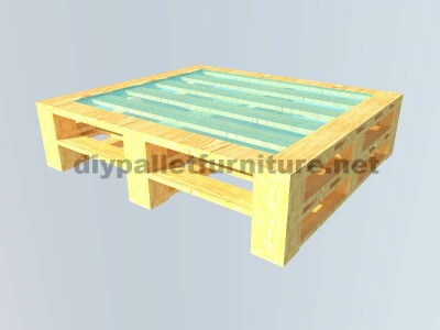 Instructions of how to make an elegant table with pallets 6