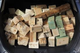 Make profit of your pallet wooden blocks 1