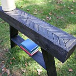 Steps and instructions of how to build a decorative pallet table with a handcrafted touch