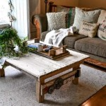 A table made ​​from pallets with rural design, step by step