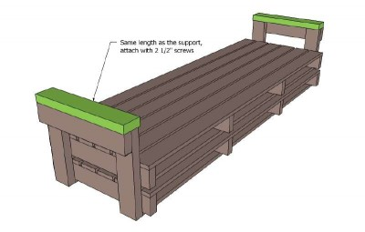 A pallet sofa plans and instructions to build it 3