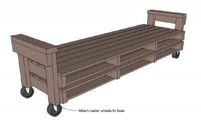 A pallet sofa plans and instructions to build it 4