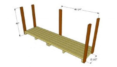 Build a pallet shed for the wood 3