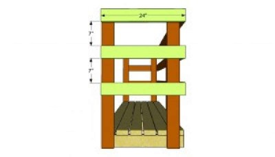 Build a pallet shed for the wood 4