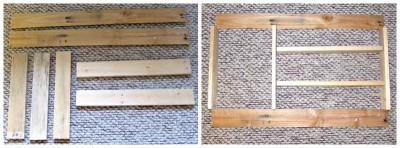 Build a pallet species organizer for your kitchen 2