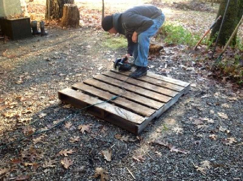 Build A Rabbit Hutch With Pallets 2 Diy Pallet Furniture