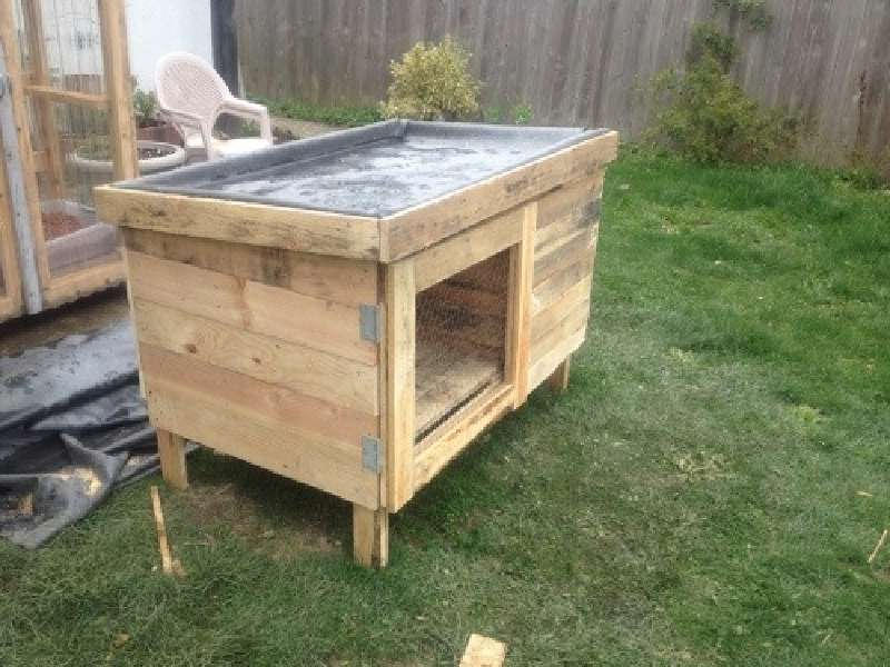 Build A Rabbit Hutch With PalletsDIY Pallet Furniture