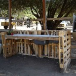 How to build a working corner for your yard with pallets 3