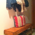 Step by step guide, a bench for the hall made ​​with pallets