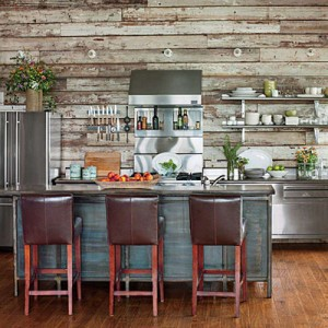 10 incredible kitchen designs made ​​with pallets 11