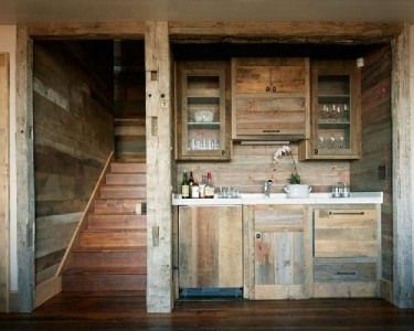 10 incredible kitchen designs made ​​with pallets 2