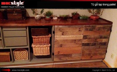 10 incredible kitchen designs made ​​with pallets