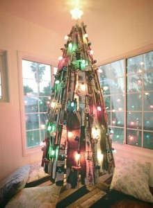 12 Ideas to design a Christmas tree ​​with pallets 8