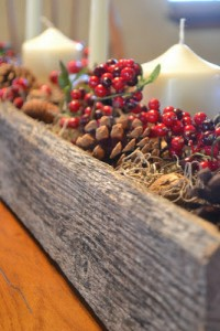 Christmas center made ​​with pallets 3