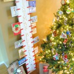 Decorate your home for Christmas using a plank from a pallet