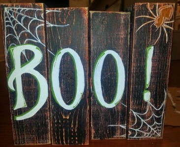 Decoration ideas for Halloween ​​with pallets 4