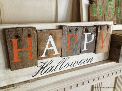 Decoration ideas for Halloween ​​with pallets 7